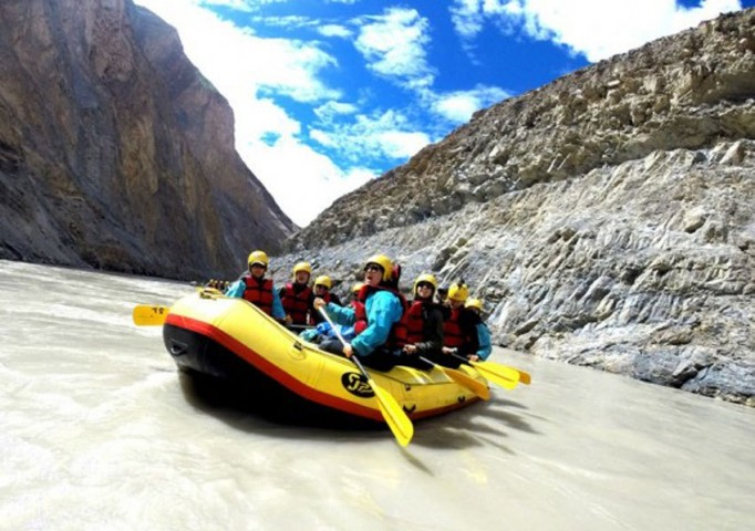 White Water Rafting (Phey to Sangam  Grade II)